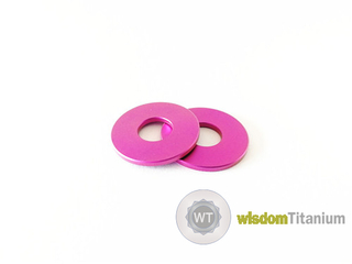 Colored Titanium M6 Washer