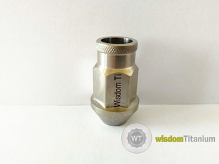 hot forged taper seat titanium lug nuts
